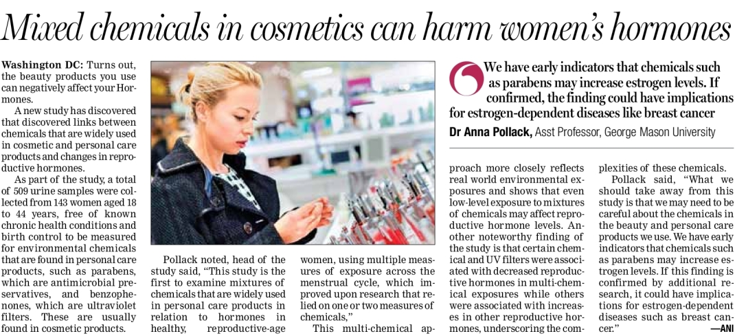 Parbens Cancer Br Chemicals in cosmetics