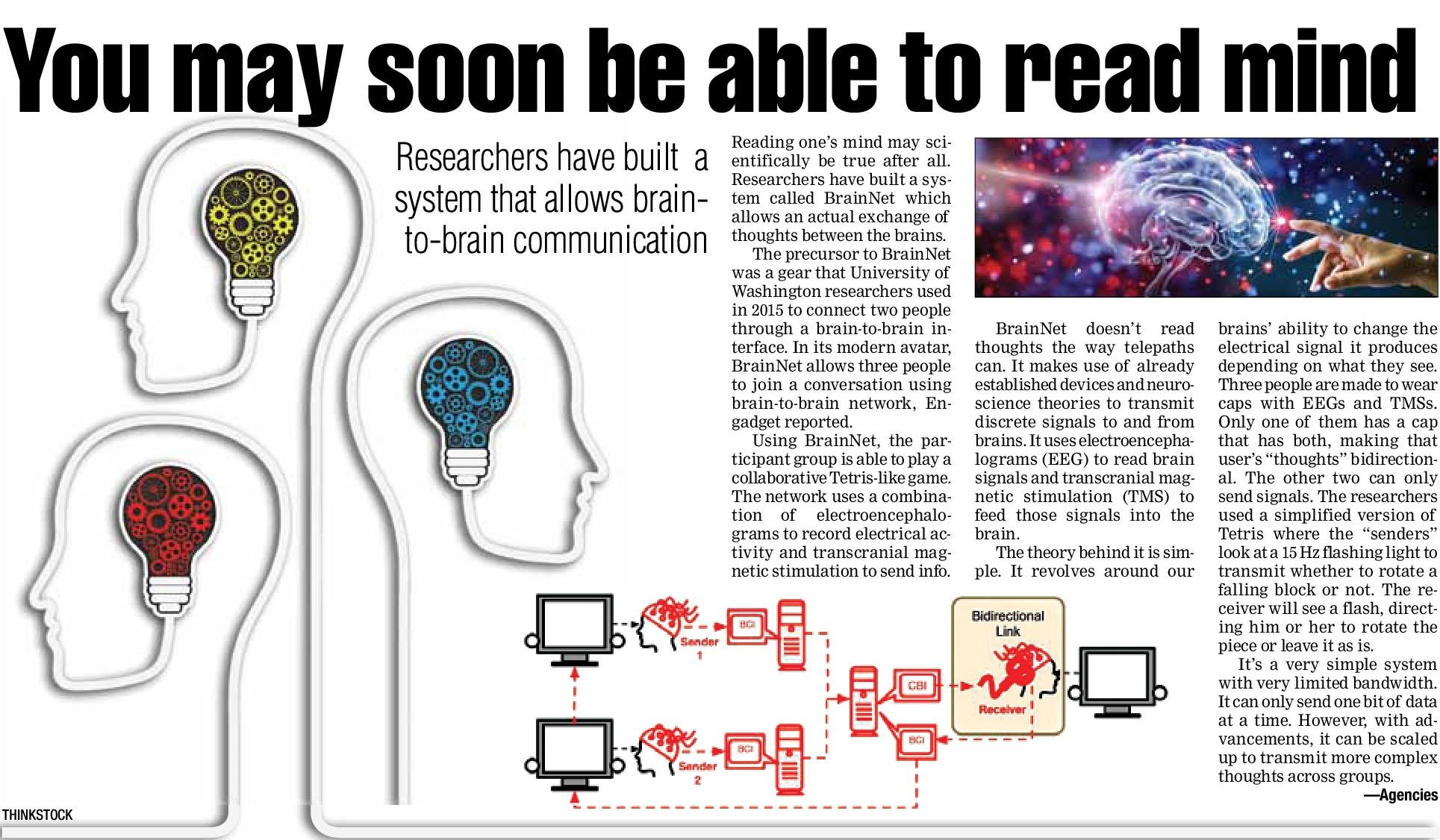 B2B of Brain to Brain